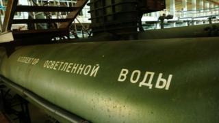 з Донецької фільтрувальної станції вивозять хлор