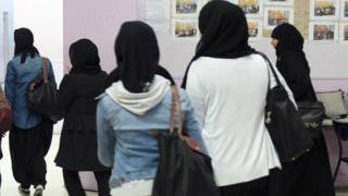 Muslim girls, file pic