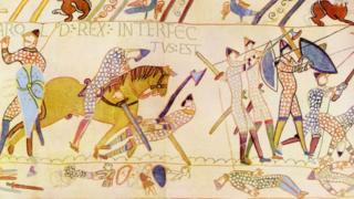 Radio 1 listener, Matt, claims the Battle of Hastings never happened. Here's the Bayeux Tapestry.