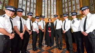 York Minster Police and the Very Reverend Vivienne Faull, Dean of York