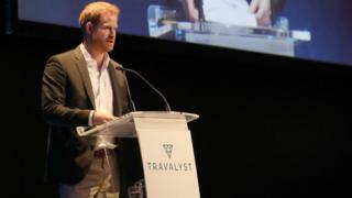 Prince Harry at Edinburgh conference