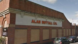 Alan Nuttall Ltd premises in Dudley