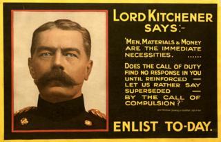 WW1 poster - UK