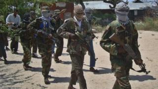 Al-Shabab fighters (file photo)