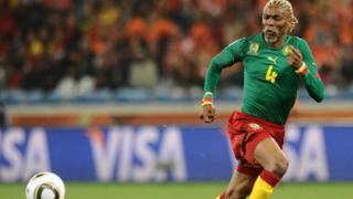 Aliyekuwa nahodha wa kikosi cha soka cha taifa la Cameroon Rigobert Song