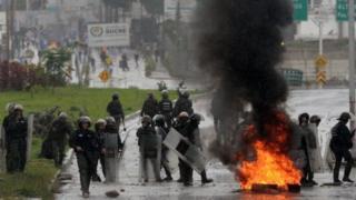 Maandamano Venezuela