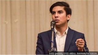 Ông Syed Saddiq