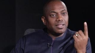 Fela Durotoye na one of di presidential aspirant for di 2019 election for Nigeria and im dey ginger young pipo to come out involve for politics.