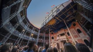 The Pop-up Globe Theatre in Auckland
