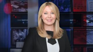 Kirsty Young on Crimewatch
