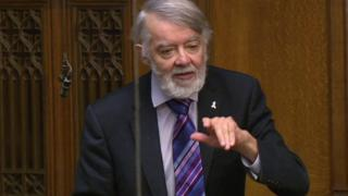 Labour Newport West MP Paul Flynn