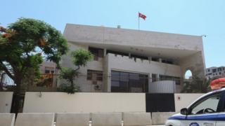 Turkish embassy in Tripoli, 30 June