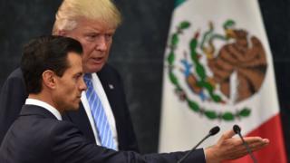 Trump y Peña Nieto