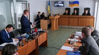 Заседание Оболонского районного суда