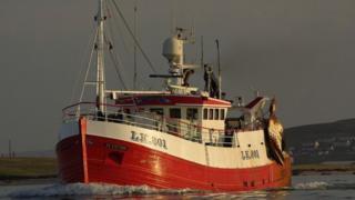 Fishing vessel 'Devotion'