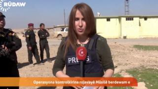 Shifa Gardi in Iraq