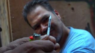 BBC eroin bağımlılığı haberi