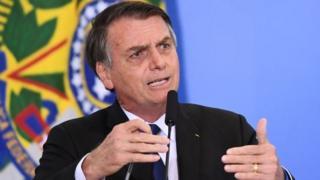 Jair Bolsonaro fala em evento do governo federal