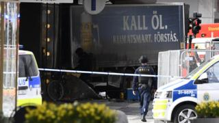Нападение в Стокгольме