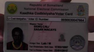 Kaarka codbixiyeyaasha Somaliland