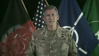 فرمانده نیروهای ناتو در افغانستان: فرصت رسیدن به صلح بیسابقه است