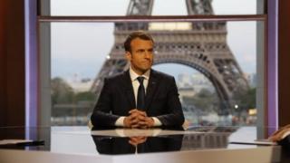 Fransa prezidenti Emmanuel Macron