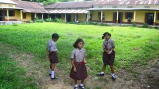 असम का एक स्कूल