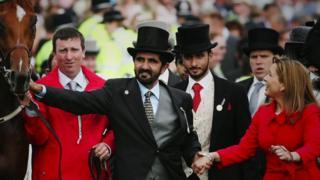 الأميرة هيا ومحمد بن راشد حاكم دبي أمام القضاء في لندن