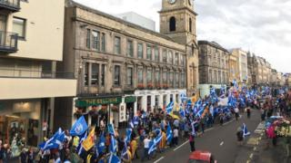 Inverness independence march