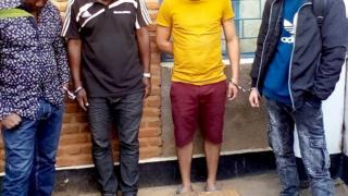 Abagabo bane nibo bafashwe n'igipolisi c'u Burundi bakekwa kudandaza heroyine
