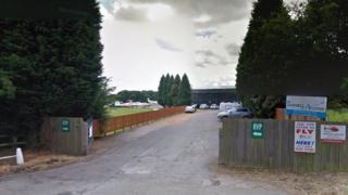 Tatenhill Airfield in Burton upon Trent