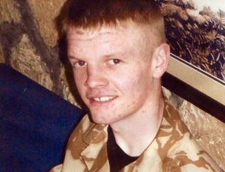 Fusilier Dean Griffiths