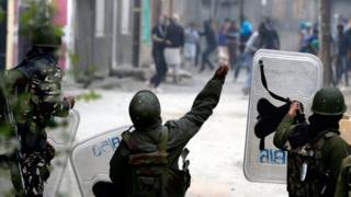 Беспорядки в Кашмире
