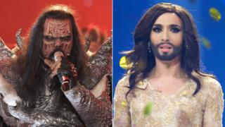 Lordi and Conchita