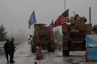 US forces in Manbij, 30 December