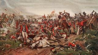 A depiction of Waterloo