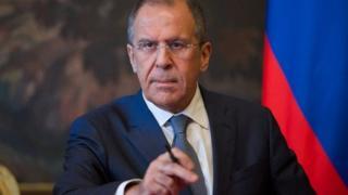 Waziri wa mambo ya nje wa Urusi, Sergei Lavrov