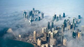 Katar gökyüzü