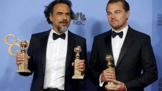Alejandro G Inarritu and Leonardo DiCaprio