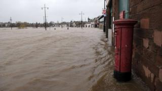 Flooding in Dumfries