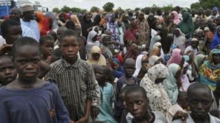'Yan gudun hijrar Nigeria a Kamaru