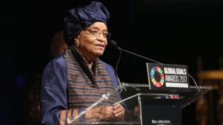 Ellen Johnson Sirleaf yatanguye kurongora igihugu mu 2006