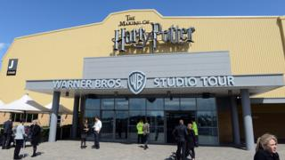 Exterior of Making of Harry Potter building