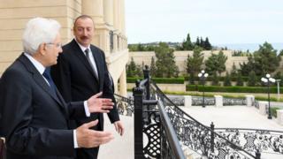 İlham Əliyev, İlham Əliyev, prezidentlər, TAP qaz boru kəməri, TAP