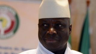 Prezida Yahya Jammeh ari ku butegetsi kuva mu 1994