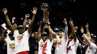 Raptors ni yo kipe yo muri Canada itwaye NBA