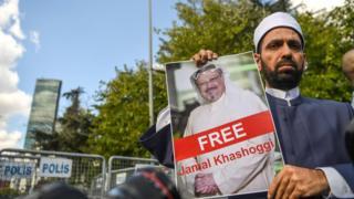 Kaşıkçı için Suudi Arabistan İstanbul Başkonsolosluğu önünde eylem yapıldı