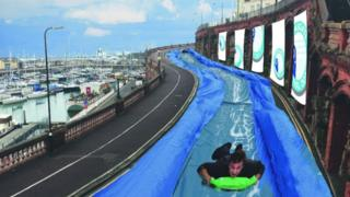 How the slide would have looked in Ramsgate