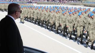 Erdoğan Türk askerleri