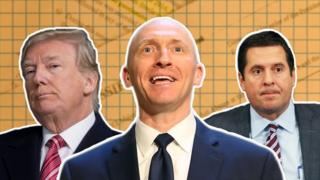 Donald Trump, Carter Page and Devin Nunes all figure prominently in the tale of the intelligence memo.